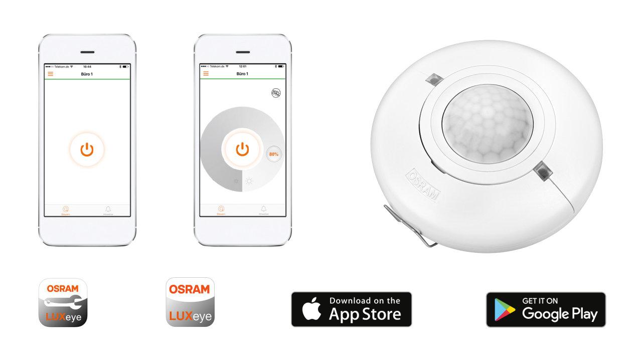 komfortable lichtsteuerung einfach per smartphone. Black Bedroom Furniture Sets. Home Design Ideas